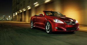 Lexus 2012 model IS Convertible