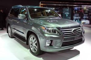 Lexus LX 570 2013 Model